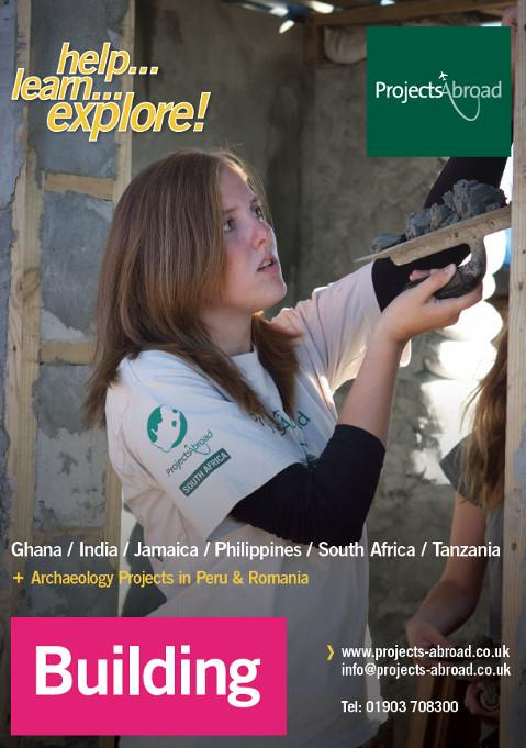Projects Abroad Leaflet - Building