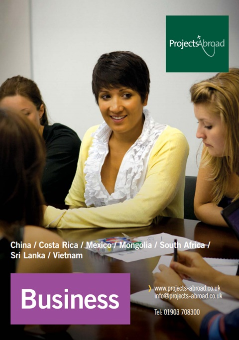 Projects Abroad Leaflet - Business