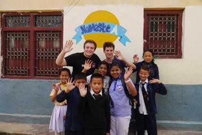A Projects Abroad Teaching volunteer in Nepal