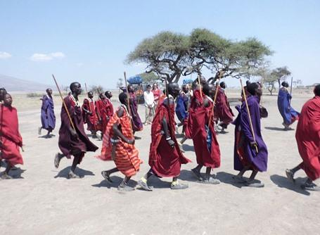 The Maasai tribe in Tanzania, Africa